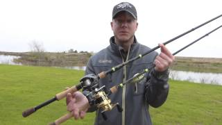 the new g loomis e6x series of rods with jonathon van dam and ibassin