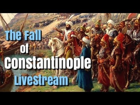 The Fall of Constantinople, 1453 - Live Podcast
