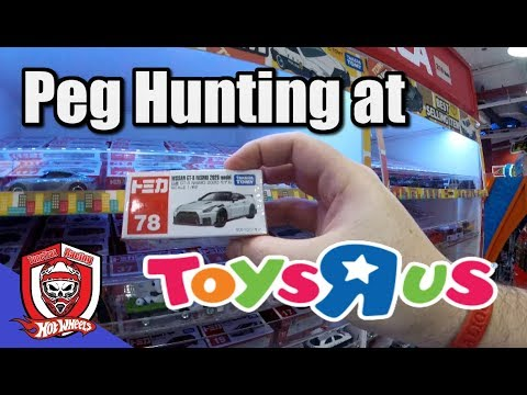 Hot Wheels, Majorette, And Tomica Peg Hunting At Toys R Us In Thailand