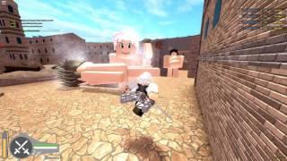 Angriff auf Titan: Untergang! | ROBLOX| DANCE UND REKTing