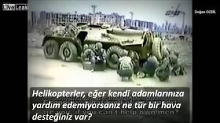 1. Çeçen Savaşı'nda Grozni'de Bir Binada Kuşatılan Rus Komutan Ve Askerlerinin Yardım Çağrısı