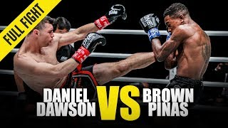 Daniel Dawson vs. Brown Pinas | ONE Full Fight | May 2019