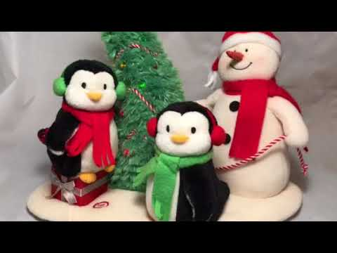 Hallmark Penguin Singing Plush