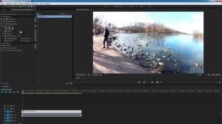 Как перевернуть видео ( Adobe Premiere )
