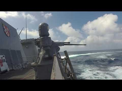 USS Sterett Weapons Exercise = Weapons Readiness