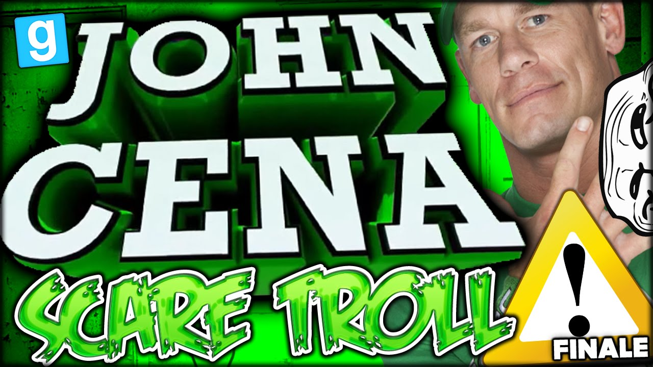Warning Loud John Cena Jump Scare Trolled The S Out Of Us Gmod Scary Map Funny Moments 3 Youtube