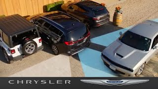 homepage tile video photo for Chrysler Pacifica   Rear Cross Path Detection