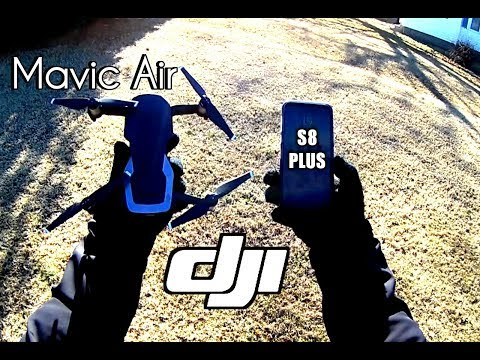 DJI Mavic Air Flying with Phone Only