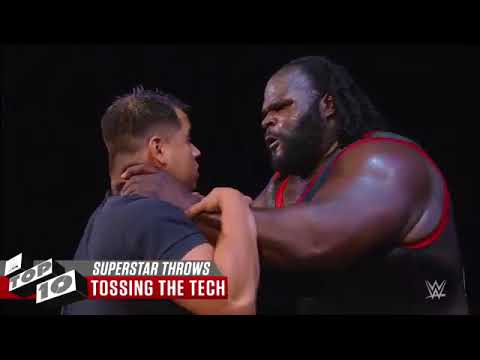 Superstars throwing rivals for insane distances  WWE Top 10