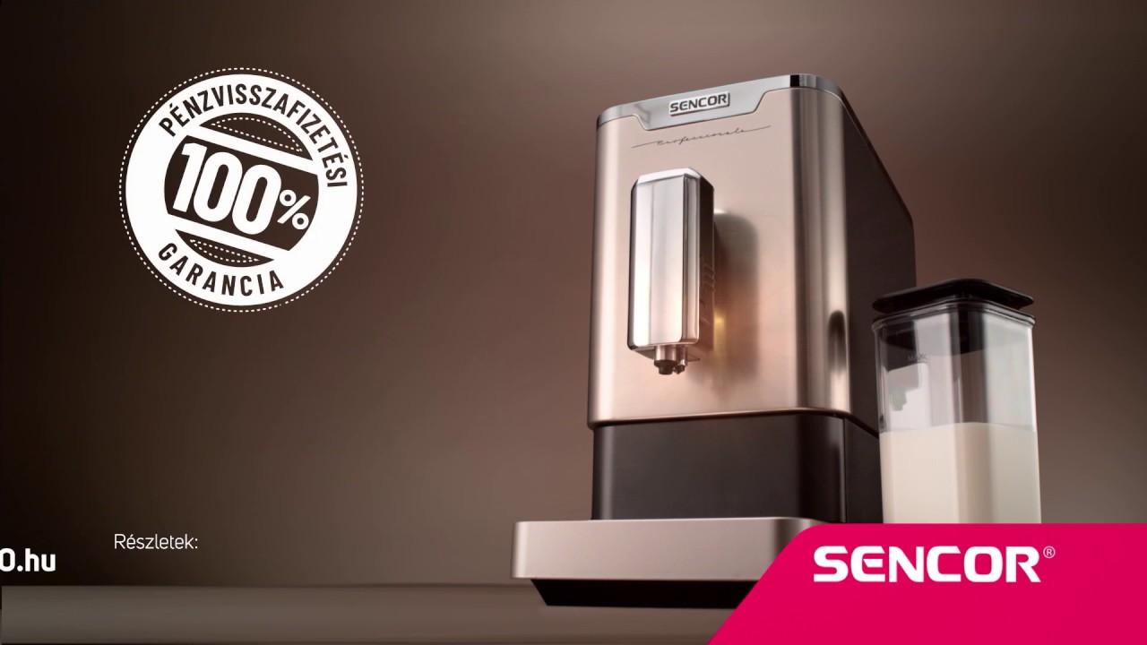 Sencor automata kávéőrlős kávéfőző SES 9020NP