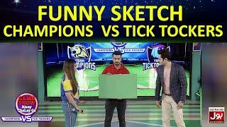 Funny Sketch | Game Show Aisay Chalay GaLeague | TickTocker Vs Champion
