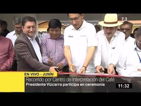 Pasco: Gobierno inaugura obras que impulsarán turismo en Villa Rica