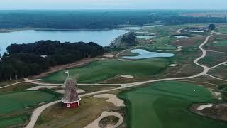 Hamptons Drone at National Links Golf Course, Southampton NY