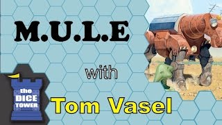 M.U.L.E.  Review - with Tom Vasel