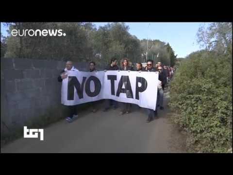 Energy VS environment: Italians rally against TAP pipeline