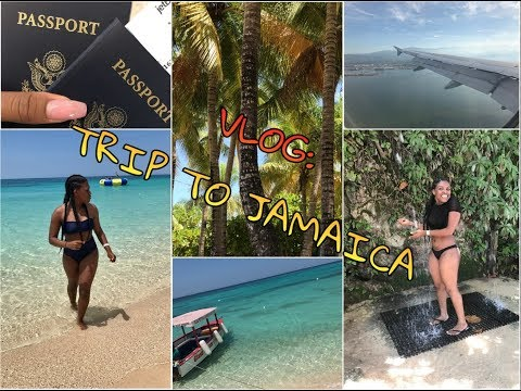 FIRST VLOG: TRIP TO JAMAICA | XINROYALE