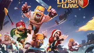 HAZDADDY GAMIN - CLASH OF CLANS - CHRISTMAS THEME IS HERE ALSO MAINTENANCE UPDATE! 17/12/16