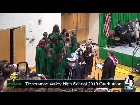 Tippecanoe Valley High School 2019 Graduation 6-2-19