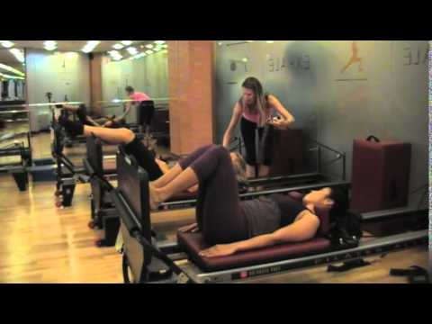Pilates Reformer JumpBoard with A Life of Energy
