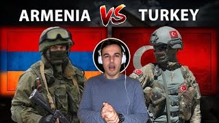 Italian Reaction to Armenia vs Turkey Military Power Comparison 2020