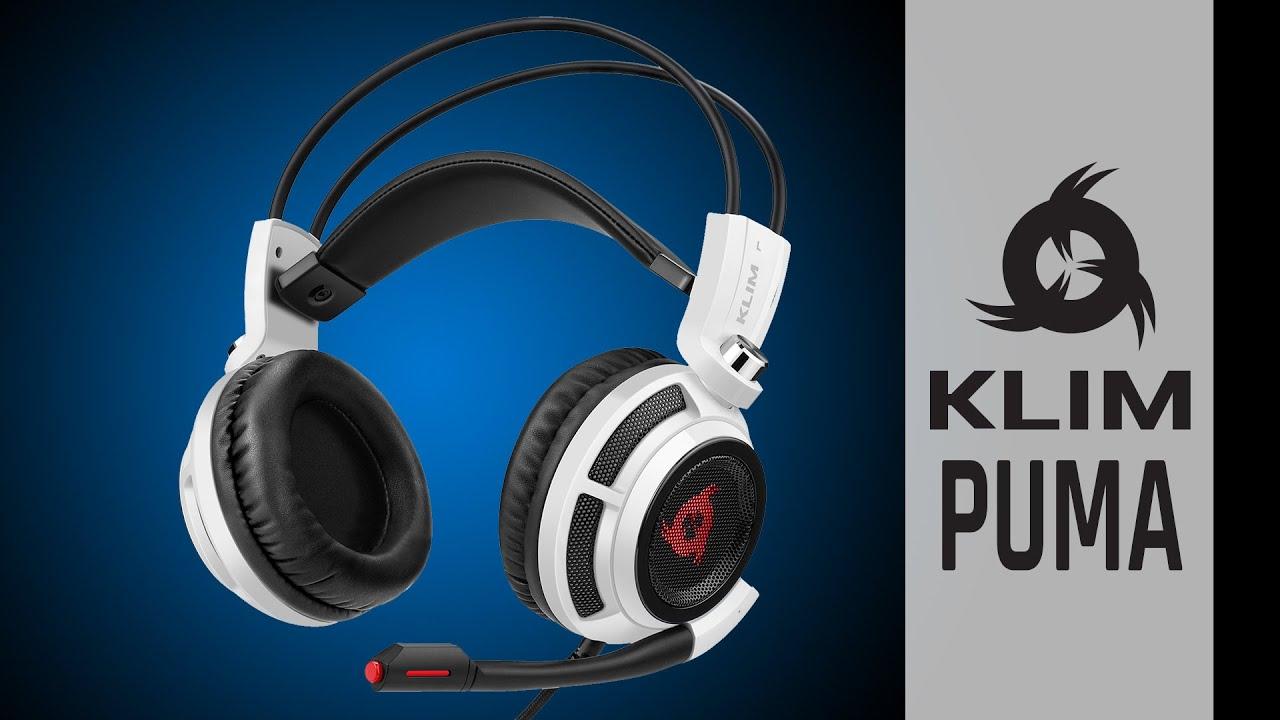 KLIM PUMA | Une expérience audio immersive | Casque Gaming USB