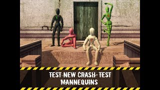 Stair Dummy Crash Test 3D Gameplay Video Android/iOS