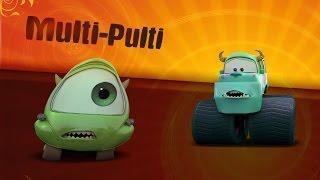 Мультики про Машинки  Тачки Одноглазый клоп против Салли  Monster Trucks  #Мультик игра