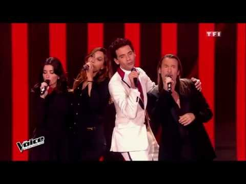 Mika, Zazie, Jenifer & Florent Pagny - Rue de la Paix | The Voice France 2015 | Blind Audition