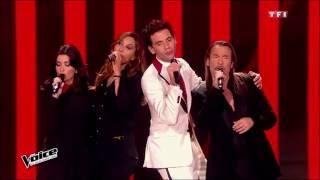 Mika, Zazie, Jenifer & Florent Pagny - Rue de la Paix | The Voice France 2015 | Blind Audition