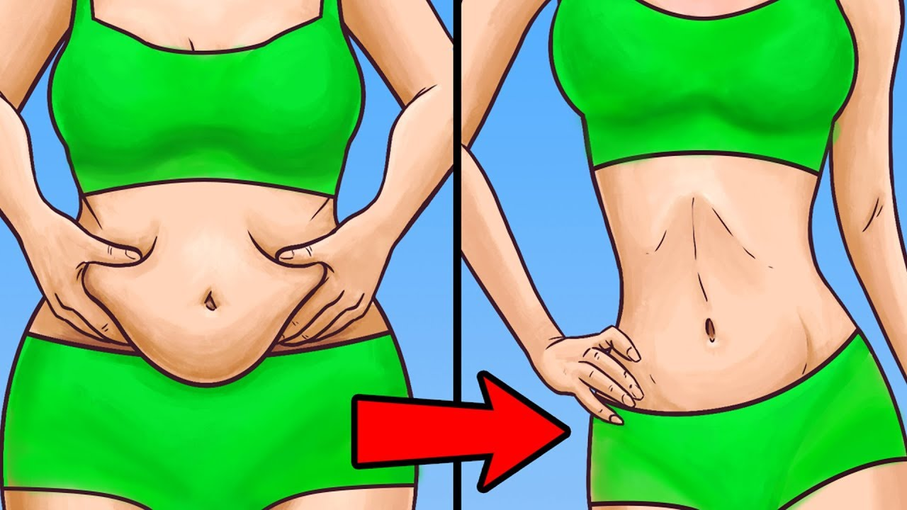 How to get rid of belly fat within two weeks