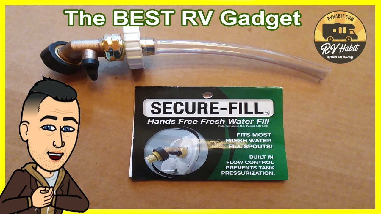 Secure-Fill for hands free filling of your RV's gravity ...
