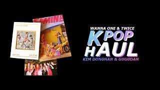 K-Pop Haul #4   TWICE, Wanna One, Gugudan, Donghan