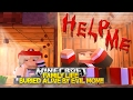 Minecraft FAMILY LIFE: BURIED ALIVE BY EVIL MOM!! Little Donny & Baby Leah Custom Roleplay.