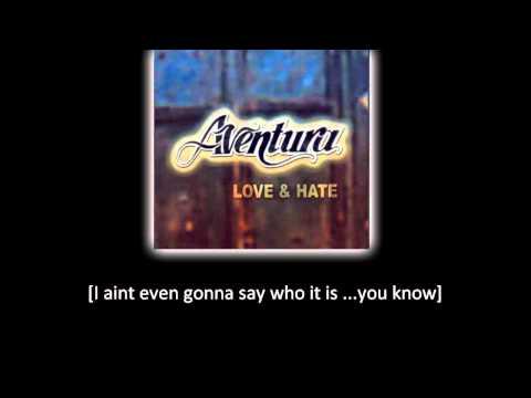 Aventura - I † m Sorry (lyric - letra)