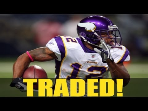 NFL Breaking News: Percy Harvin Traded to The Seahawks