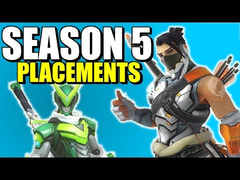 Overwatch Season 5 Placements Tips / Guide