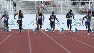 Men's 100m at Memorial Josefa Odlozila 2019
