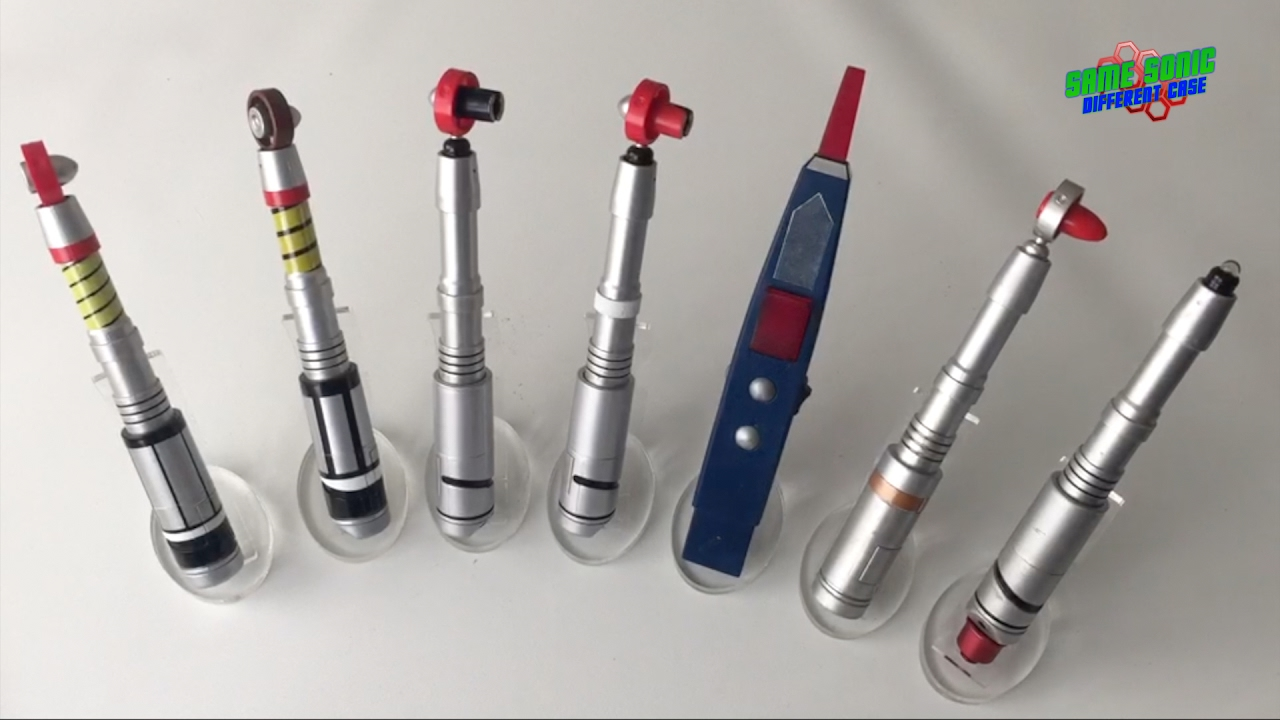 classic sonic screwdriver collection youtube