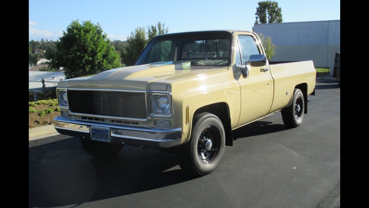 1975 Chevy Muscle Truck - YouTube