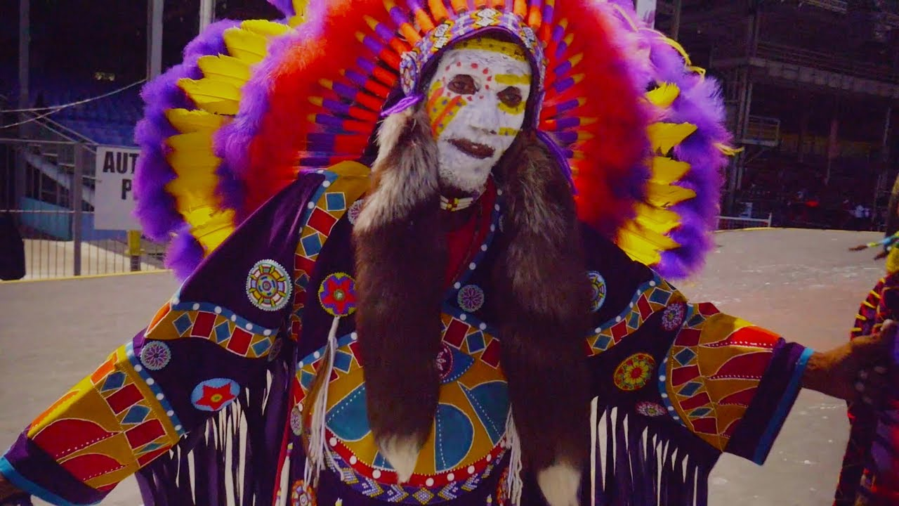 Traditional Carnival Characters Parade 2018 in Trinidad & Tobago - YouTube