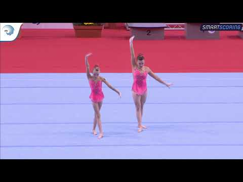 REPLAY: 2017 ACRO EAGC, FINAL 12 - 18 Women's groups and women's pairs