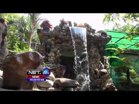 Batu Akik Sebagai Penghias Taman di Semarang  NET24