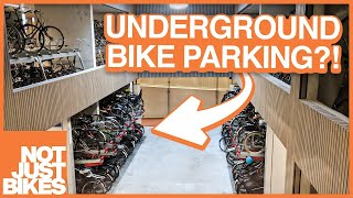 The Incredible Underground Bicycle Parking Garages of the Netherlands