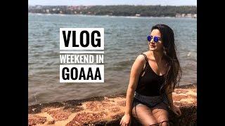 VLOG | WEEKEND IN GOA | BEAUTY | SHIVSHAKTI SACHDEV | EVENT | HAPPY SUNDAYING | SSSVLOGS