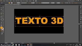 ILLUSTRATOR: TEXTO EN 3D