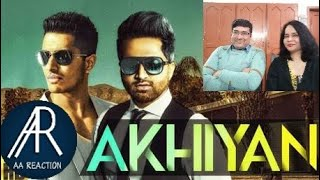 Pakistani react on Akhiyan Song By Falak ft Arjun | Falak | AA reactions