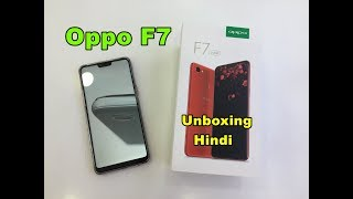 oppo F7 Unboxing and First Look (Red 4GB and 64GB Rom)