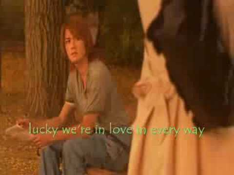 romeo and juliet movie - lucky (with lyrics)