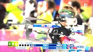 Anastasia Kuzminová - 1. miesto na 7,5 km ZOH 2014 Sochi