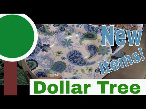 NEW Dollar Tree Items! Dishware, Wall Decor, Pot Climbers! April 2017